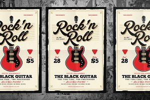 Rock n Roll Music Flyer