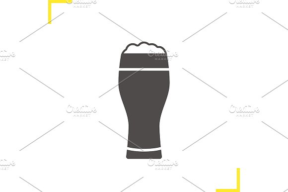 Beer glass icon. Vector - Icons