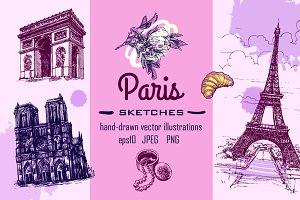 Set of Paris sketches