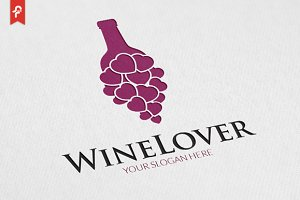 Wine Lover Logo