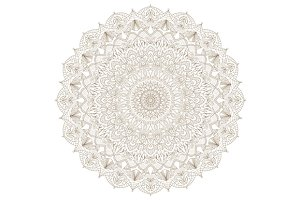 3 Radial detailed mandalas.