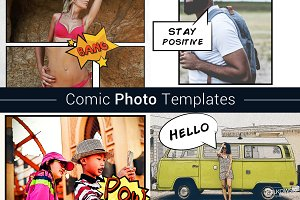 Comic Photo Template