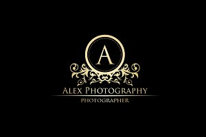 Alex Photography - Luxury Logo
