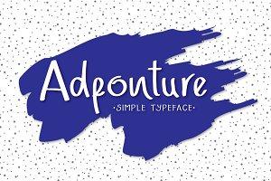 Adfonture Typeface (30% off)