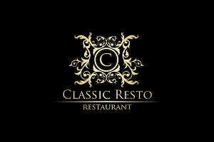 Classic Resto - Luxury Logo