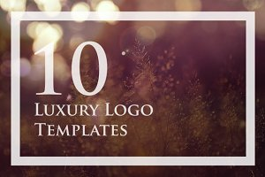 10 Luxury Logo Set