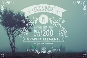 Floral Logo Templates & Elements