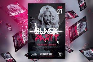 Black Party | Flyer Templates