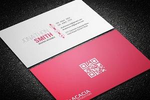 Optimistic Business Card