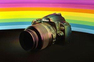 Nikon & The Rainbow