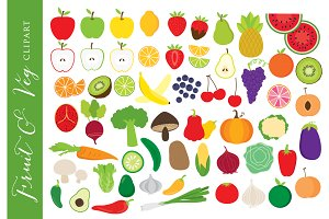 Vegetable clipart fruit clip art
