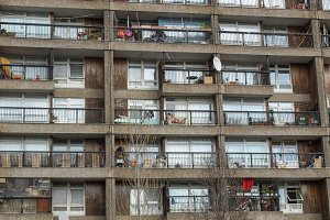 Trellick Tower in London