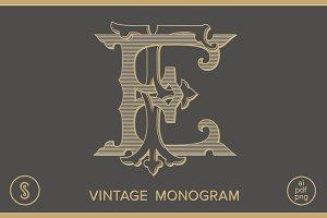 EF Monogram FE Monogram