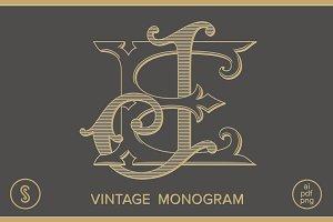 EJ Monogram JE Monogram