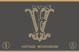 FV Monogram VF Monogram
