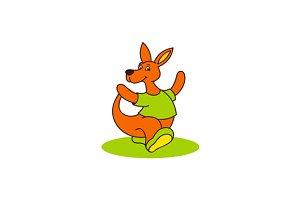 Carefree kangaroo