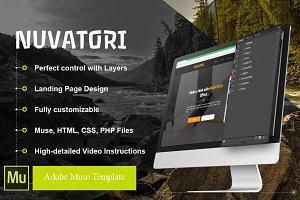 NUVATORI - App Showcase Web Template
