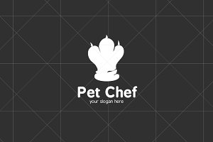 Pet / Animal Chef Logo