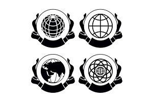 Globes emblem