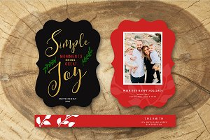 Christmas Card Template 031