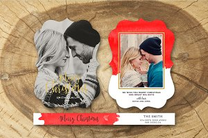 Christmas Card Template 032