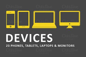 Responsive Device Illustrations