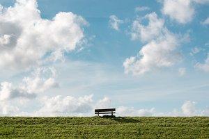 Dike bench...