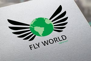Fly World Logo