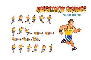 MARATHON RUNNER SPRITE