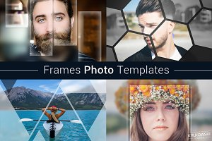 Frames Photo Template