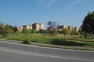View of the city of Settimo Torinese
