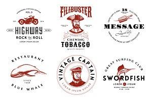Adventure Vintage Logos
