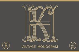 HK Monogram KH Monogram