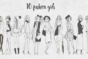 10 fashion girls