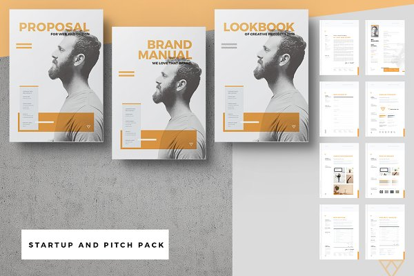 Startup Proposal Pitch Pack