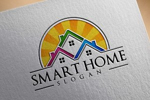 Real estate logo design, home,house