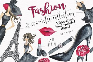 Fashion Illustrations Watercolor Kit