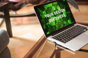 MacBook Display Mock-up #4
