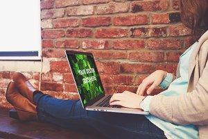 MacBook Display Mock-up #5