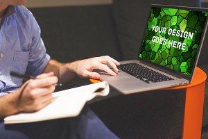 MacBook Display Mock-up #7