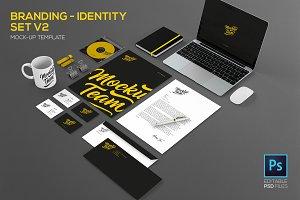 Branding - identity set V2