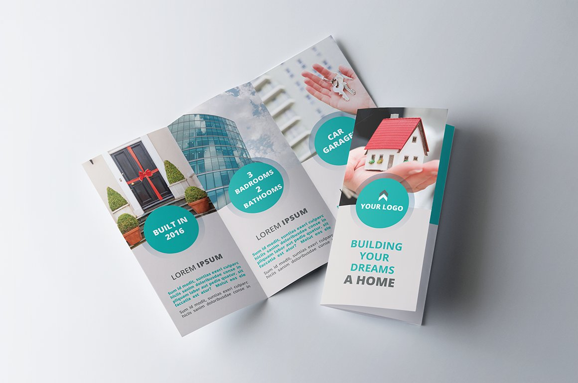 real estate tri fold brochure sk brochure templates creative