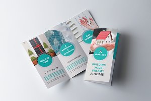 Real Estate Tri-fold Brochure - SK