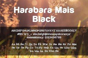 Harabara Mais Black