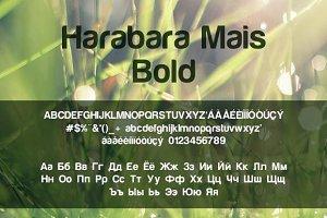 Harabara Mais Bold