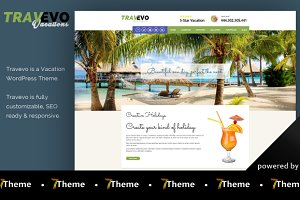 Travevo - WordPress Vacation Theme