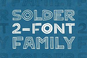 Solder 2-Font Family