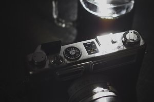 Coffee and a Film Camera