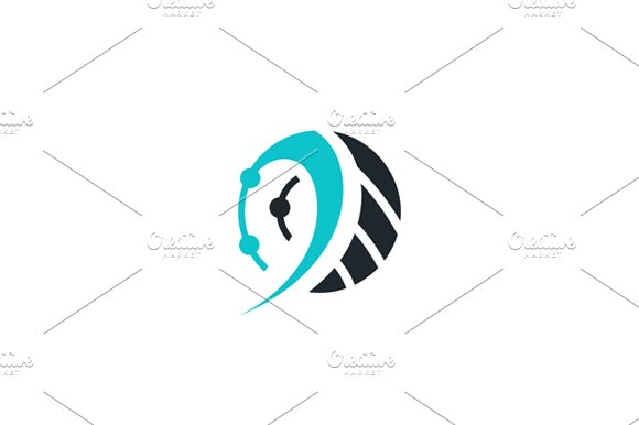 Technology sign in Logo Templates