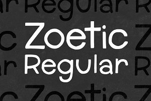 Zoetic Regular